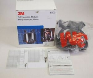 NEW 3M 6800 Full Facepiece, Medium