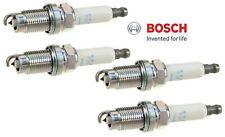 Set of 4 Spark Plugs Bosch Platinum For Audi Volvo Hyundai Porsche Dodge Eagle