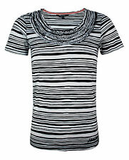 Women's Striped Scoop Neck Tops & Shirts