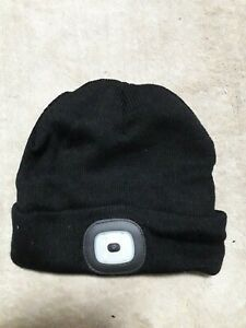 Beanie Hat With Led headlight