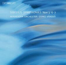 Sibelius / Minnesota - Sibelius: Symphonies 3,6 & 7 [New SACD]