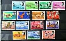 T3 - BR.SOLOMON IS. 1968 COMPLETE SET OF 15 SUPERB MINT NEVER HINGED ON S/CARD.