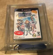 Final Fantasy Crystal Chronicles Gamecube Game & Link Bundle Cable NEW sealed