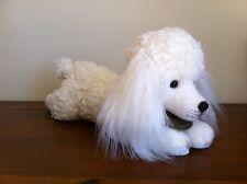 Yomiko Classics White Poodle Dog Soft Plush Toy Large
