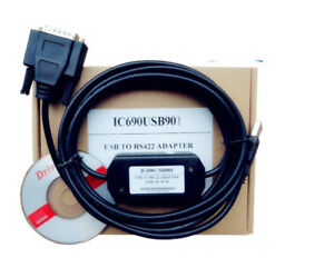 NEW PLCProgramming Cable For GE Fanuc SNP 90/30 90/70 Micro IC690USB901USB GE90