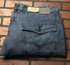 Swiss Cross Boot Cut Men's Jeans Size 50 x 34