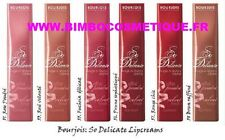 BOURJOIS SO DELICATE ROUGE A LEVRES CREME EFFET POUDRE 53 ROSE VELOUTEE
