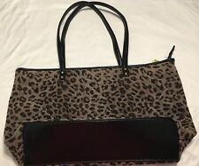 Christian Livingston Collection Leopard Print Hobo Shoulder Handbag Purse