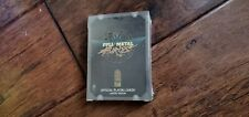 Full Metal Furies Playing Cards NEW RARE Promo PS4 Xbox One PC Rogue Legacy Dev