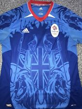 Team GB London Camicia di calcio 2012 GRANDE RARA