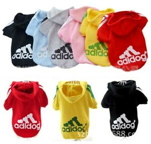 Warm Hoodie Dog Clothes Sweater Pet Jacket Coat Clothing Puppy Winter Apparel