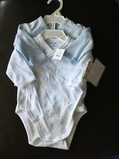 NWT $18 Baby Boy Snap Button Body Suit 2 Pack Size 6M C4