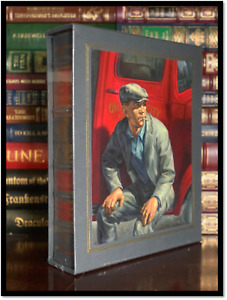 Grapes Of Wrath ✎SIGNED✎ Sealed Leather Bound Easton Press Deluxe Limited 1/1200