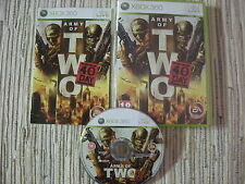XBOX 360 XBOX360 ARMY OF TWO THE 40TH DAY USADO BUEN ESTADO