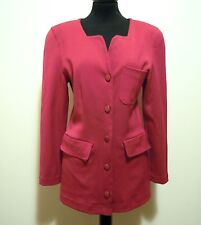 CULT VINTAGE '80 Giacca Donna Viscosa Wool Rayon Woman Jacket Sz.S - 42