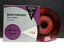 SYMPHONY ORCHESTRA OF RADIO BERLIN Dir LEOPOLD LUDWIG  Rimsky Korsakov URANIA 20