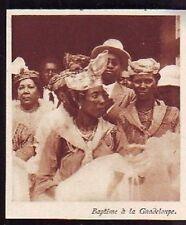 1926  --  BAPTEME A LA GUADELOUPE  S879