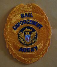 Patch BAIL ENFORCEMENT AGENT  Shield Cotton blend  Yellow unisex