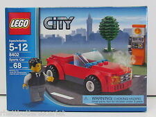 LEGO 8402 ~ CITY Red Sports Car ~ RETIRED ~ 8401~~NIB
