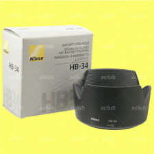 Genuine Nikon HB-34 Lens Hood for AF-S DX 55-200mm f/4-5.6G ED