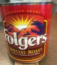 Coffee can, Folgers 2lb. 2.5 oz.
