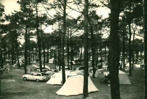 Carte Postale ancienne Sion sur l'océan le camping  85 Vendée