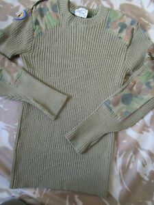 AUSCAM JUMPER Australian Hiking CAMO sas CADETS ARMY Bushcraft Wolley Pulley
