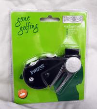 Gone Golfing 4 in 1 Golf Tool - Ball Marker, Counter, Brush, Pitch Folk Repair