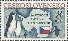 Timbre Oiseaux Tchécoslovaquie 2886 ** lot 13000