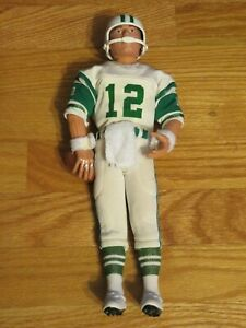"1983 JOE NAMATH No. 12 NEW YORK JETS Hasbro 12"" Doll w/ Football & Accessories"