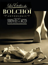 LE BOLCHOI - ANTHOLOGY : LES ETOILES DU BOLCHOI - 10 DVD + 4 CD
