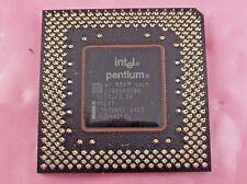 Intel Pentium MMX CPU Processor (200MHz,512KB,66MHz,Socket 7) - SL27J