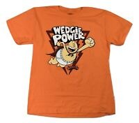 Captain Underpants Youth Boys Orange Wedgie Power Tee Shirt New XL (14-16)