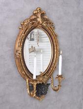 Wandleuchter Kerzenhalter Barock Leuchter Spiegel Wandspiegel Kerzenleuchter