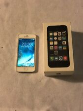 Apple iPhone 5s - 16GB -Silver (Unlocked) GOOD WORKING ORDER GRADE A