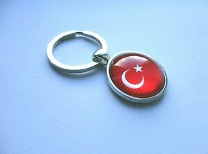 Turkey Flag Keyring
