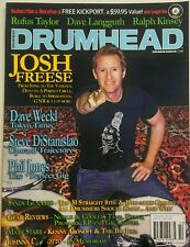 Drumhead Oct 2016 Josh Freese Gear Review Dave We'll Tokyo Time FREE SHIPPING sb