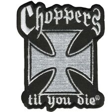Pin's Biker épinglette Croix de malte choppers gilet sacoche blouson veste moto