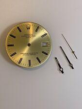 Rolex 1500 gold dial with hands tritium