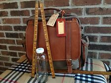 KORCHMAR WAXED CANVAS LEATHER BRIEFCASE & BACKPACK RUCKSACK LAPTOP BAG R$522
