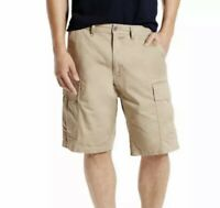 NWT Levi's Carrier Cargo Men's Shorts (Big&Tall) Size 50 Tan Beige