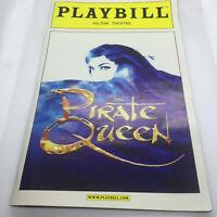 The Pirate Queen Broadway Musical Playbill April  2007 Stephanie J Block
