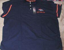 NEW NFL Denver Broncos Golf Polo Shirt Men 6XL XXXXXXL NEW NWT