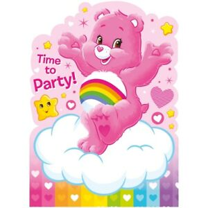 Care Bears Party Supplies Tableware, Decorations, Banners, Balloons, Invites