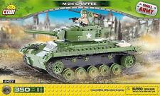 bricks Cobi Tank M24 Chaffee American light  350 pcs 2457 blocks good as Lego