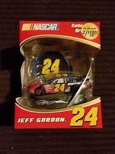 Nascar Jeff Gordon #24 Collectible Ornament Trevco