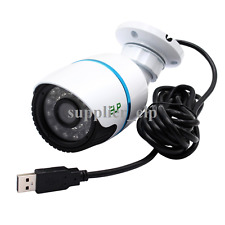0.3MP Face Detection USB Camera Bullet Outdoor Waterproof Night Vision Webcam