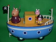 Peppa Pig - Boat Playset With Figures - clean and ready to play_