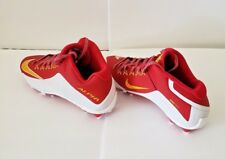 Nike Alpha Pro 2Td 3/4 Mens Football Cleats Red/White/Yellow Size12 (729444-616)