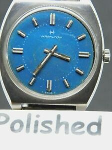 MENS MANUAL WIND HAMILTON  #124 SWISS WRIST WATCH